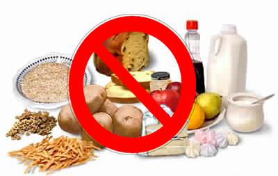 Aliments interdits dans keto