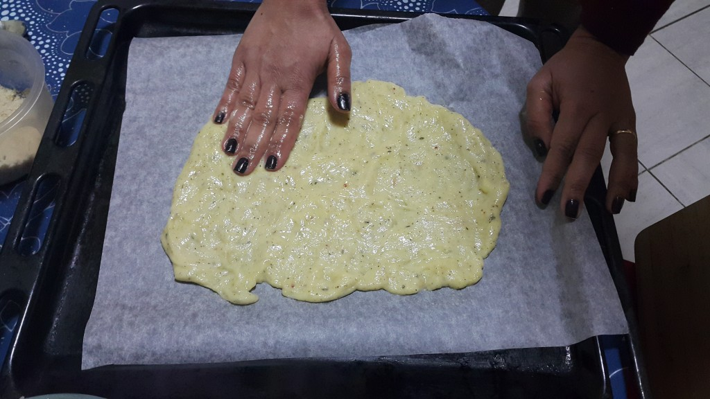 Pizza Fathead - Etape 4